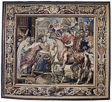 Tapestry showing Constantine's Triumphal Entry into Rome.jpg