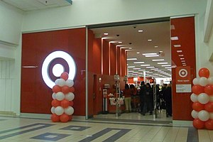 Shoppers World Brampton - The former Target store, opened in 2013 and closed in 2015