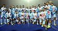 Team India won Silver Medal in the Men's Hockey, at the 12th South Asian Games-2016, in Guwahati on February 12, 2016.jpg