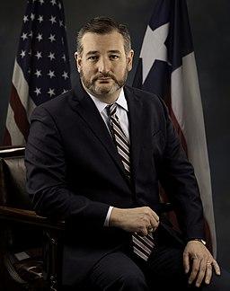 Ted Cruz official 116th portrait