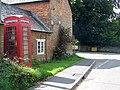 Telephone box, East Kennett - geograph.org.uk - 1429614.jpg