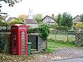 Telephone box, Yetminster - geograph.org.uk - 1568169.jpg