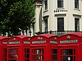 Telephone boxes, Charing Cross - geograph.org.uk - 811250.jpg