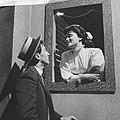 Televisierepetitie Een mooie zondag in september. Nelleke Knegtmans en Jules R, Bestanddeelnr 912-6051.jpg
