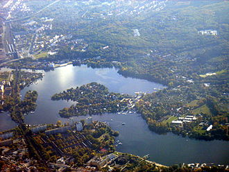 Potsdam - Templiner See south of Potsdam
