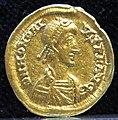 Tesoretto di sovana 005 solido di onorio (402-3 o 405-6), zecca di milano.JPG