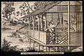 Textiles; silk manufacture in China, gathering the empty sil Wellcome V0024219.jpg