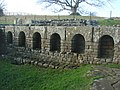 The Bath House, Chesters Fort, Hadrian's Wall. - geograph.org.uk - 297343.jpg