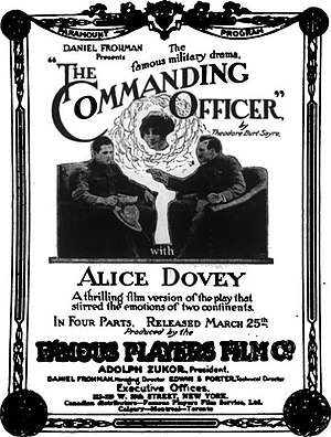 The Commanding Officer - Advertisement