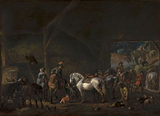 'The Departure from the Stable'