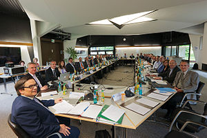 Extremely Large Telescope - Image: The ESO Council during their meeting in Garching on 11–12 June 2012