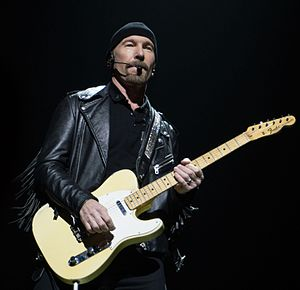 The Edge - Performing in Belfast in 2015