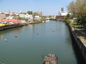 Gowanus Canal - View of the canal from the Third Street Bridge
