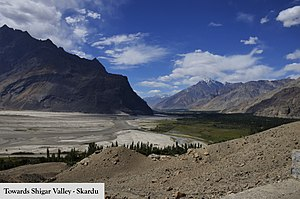 Shigar Valley - Image: The Intrinsic Nature of Shigar Valley, Skardu 03