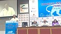 The Minister of State for Culture (Independent Charge), Tourism (Independent Charge) and Civil Aviation, Dr. Mahesh Sharma addressing at the Tourism Investors Meet, organised by the FICCI.jpg
