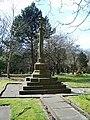 The Parish Church of St Peter, Burnley, War Memorial - geograph.org.uk - 763764.jpg