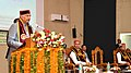 The President, Shri Ram Nath Kovind addressing at the 9th Convocation of the Dr. Y.S. Parmar University of Horticulture and Forestry, in Solan, Himachal Pradesh.JPG