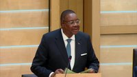 File:The President of the Republic of Malawi, His Excellency Professor Arthur Peter Mutharika - 26-4-18.webm
