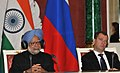 The Prime Minister, Dr. Manmohan Singh and the President of the Russian Federation, Mr. Dmitry A. Medvedev, at the joint press conference, in Moscow, Russia on December 16, 2011.jpg