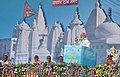 The Prime Minister, Shri Narendra Modi addressing at the concluding ceremony of the Narmada Sewa Yatra & launching of Narmada Sewa Mission, in Amarkantak, Madhya Pradesh.jpg