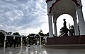 The Prime Minister, Shri Narendra Modi paying homage at the War Memorial in Indian Military Academy, Dehradun, ahead of the Combined Commanders Conference,.jpg