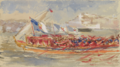 The Royal Barge at Lisbon (1876) - Sydney Prior Hall.png