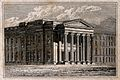 The Royal College of Physicians, Trafalgar Square; the eleva Wellcome V0013846.jpg