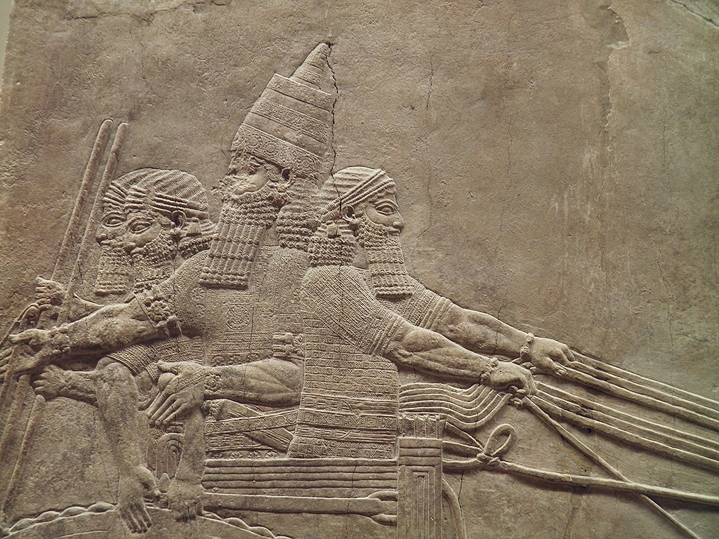 file the royal lion hunt reliefs from the assyrian palace