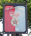The Sign of The Rose and Crown, Beverley - geograph.org.uk - 806940.jpg
