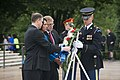 The Sophomore Class of the 114th Congress lays a wreath at the Tomb of the Unknown Soldier in Arlington National Cemetery (17939589841).jpg