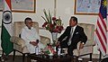 The Union Minister for Road Transport and Highways, Dr. C.P. Joshi calls on the Dy. Prime Minister of Malaysia, Shri Tan Sri Muhyiddin Hj Mosd Yassin, in New Delhi on March 10, 2011.jpg