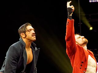 The Vaudevillains Professional wrestling tag team