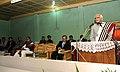 The Vice President, Shri Mohd. Hamid Ansari addressing during his visit to Kigwema village, in Kohima, Nagaland on September 19, 2010.jpg