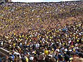 The Wave, Michigan Stadium, University of Michigan, Ann Arbor, Michigan (21720398126).jpg