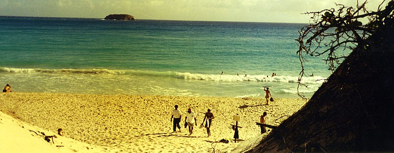 File:The best beach in the world - Saline Beach on St. Barthelemy FWI - panoramio (1).jpg