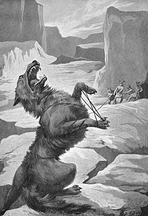Wolves in folklore, religion and mythology - Fenrir, bound by the gods