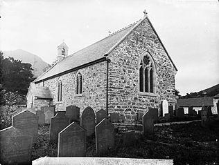 The church, Llangynog (Tfn)