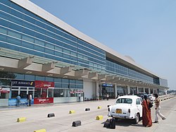 The facade of Varansi Airport, Varanasi.jpg