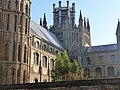The famous lantern, Ely Cathedral - geograph.org.uk - 1766560.jpg