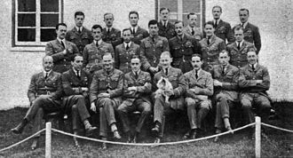 RAF Staff College, Andover - The first RAF Staff College course at Andover in 1922