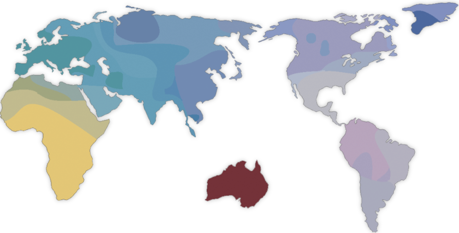The history and geography of human genes Luigi Luca Cavalli-Sforza map genetic