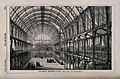 The interior of the Dublin Exhibition Palace, Ireland. Wood Wellcome V0012542.jpg