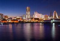 The night view of Minato Mirai 21.jpg