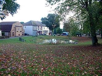 Tatsfield - Image: The pond at Tatsfield, TN16 geograph.org.uk 68152