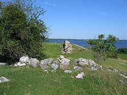 The ruins of Alsnö hus, Adelsö.JPG