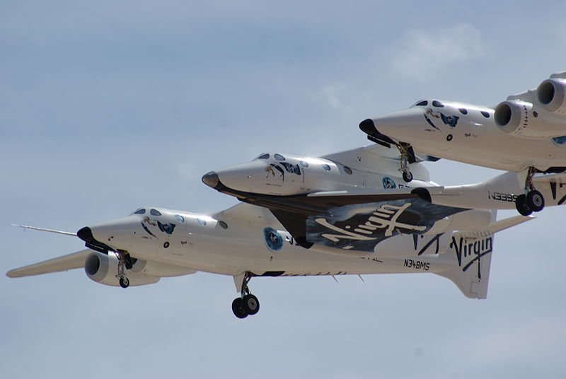 The three noses of SpaceShipTwo and White Knight Two.jpg