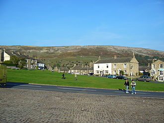 Reeth - Village green