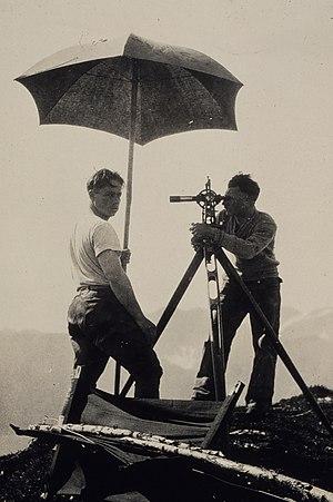 Triangulation (surveying) - Triangulation of Kodiak Island in 1929.