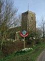 Theddlethorpe village signpost - geograph.org.uk - 1804117.jpg