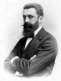 Theodor Herzl father of modern political Zionism